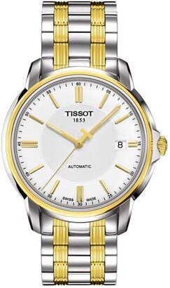Tissot Men's Automatics III Date Two-Tone Bracelet Watch, 39mm