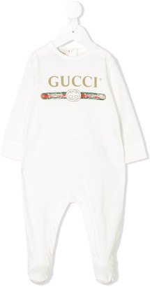 Gucci Kids Logo Pajamas