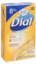Dial Antibacterial Deodorant Soap Bars Gold