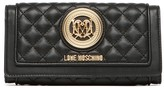 Love Moschino Quilted Tri-Fold Wallet