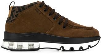 Fendi lace-up boots