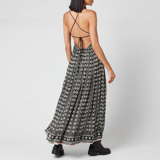 Free People Women's Good Vibes Midi Dress