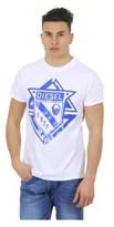 Diesel Mens T-shirt Short Sleeves Round Neck T-scod.