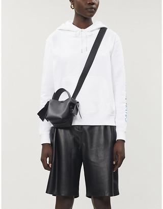 Calvin Klein Relaxed logo cotton-jersey hoody