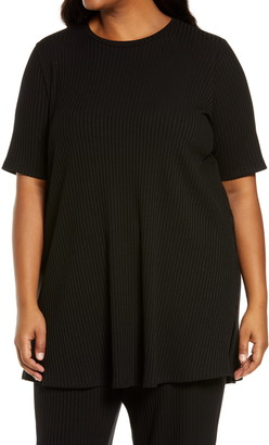 Eileen Fisher Ribbed Knit Tunic