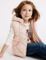 Marks and Spencer Printed Padded Gilet with StormwearTM (3 Months - 7 Years)