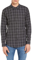 Ezekiel Westmont Plaid Long Sleeve Trim Fit Shirt