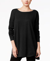 Style&Co. Style & Co. Petite Boat-Neck Tunic Sweater, Only at Macy's