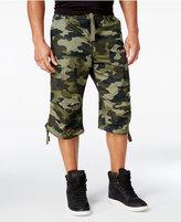 Sean John Men's Camouflage Flight Cargo Shorts