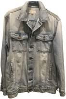 Current/Elliott Current Elliott Blue Denim - Jeans Leather jackets
