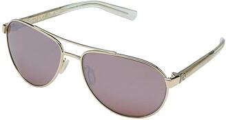 &'Costa Costa Fernandina (Shiny Gold Frame/Copper Silver Mirror Lens 580P) Fashion Sunglasses