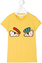 Fendi Faces T-shirt - kids - Cotton - 4 yrs