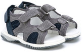 Hogan touch strap sandals - kids - Leather/Suede/Foam Rubber - 20