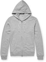 Club Monaco Loopback Cotton-Jersey Zip-Up Hoodie
