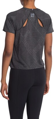 New Balance Q Speed Fuel Jacquard Short Sleeve T-Shirt