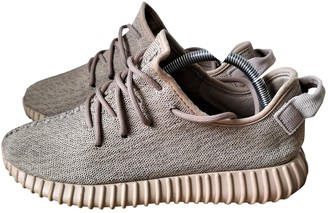 Yeezy Boost 350 V1 Camel Cloth Trainers
