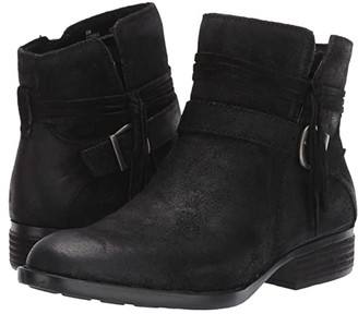 Børn Osha (Black Distressed) Women's Pull-on Boots