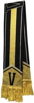 Versace Yellow Wool Scarves