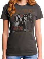 Goodie Two Sleeves Gray AC/DC 1979 Tour Relic Tee - Women
