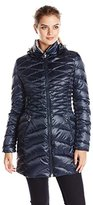 Laundry by Shelli Segal Women's Packable Down Jacket with Hood