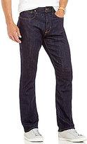 Daniel Cremieux Straight-Fit Resin Wash Denim Jeans