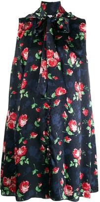 Magda Butrym Floral Print Shift Dress