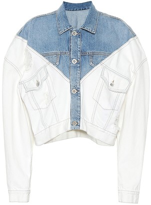 Unravel Cropped denim jacket