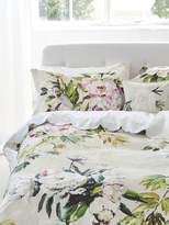 Designers Guild Floreale grande embroidered flat sheet