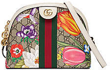 Gucci Women's Small Ophidia GG Floral Canvas Shoulder Bag
