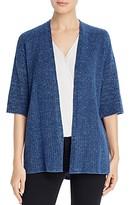 Eileen Fisher Step-Hem Kimono Cardigan