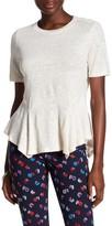 Rebecca Taylor Short Sleeve Linen T-Shirt