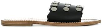Solange Studded Strap Sandals
