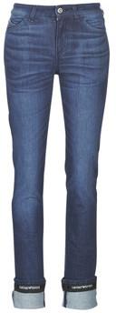 Emporio Armani 6G2J81-2D5TZ-0943 women's Skinny Jeans in Blue