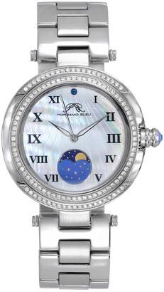 Porsamo Bleu Women's South Sea Crystal Moon Watch