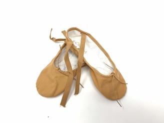 Sansha Unisex's 3c Silhouette Flesh 16 Medium (Us Sizes Women 14-14.5 Men 12-12.5) Ballet Flat M BR