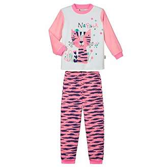 Camilla And Marc Nafissa Girls' Long-Sleeved Pyjamas Size 2/3 Years (92/98 cm)