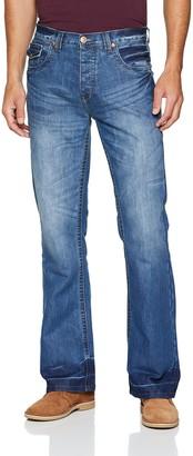 Raw Indigo Ltd Men's A42 Bootcut Jeans