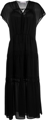 See by Chloe Layered Style Tiered Dress