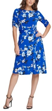 Jessica Howard Floral Fit & Flare Dress