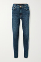Thumbnail for your product : J Brand Leenah High-rise Skinny Jeans - Blue