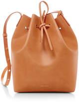 Mansur Gavriel Cammello Silver Large Bucket Bag