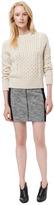 Rebecca Taylor Dolman Sleeve Cropped Knit