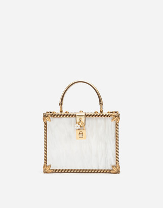 Dolce & Gabbana Mother-Of-Pearl Dolce Box Bag