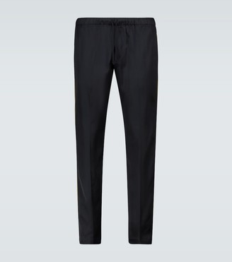 Dries Van Noten Drawstring viscose pants