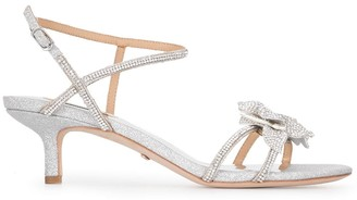 Badgley Mischka Gianna crystal-embellished sandals