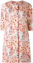 Si-Jay - floral coat - women - Nylon/Polyester - 42