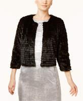 Calvin Klein Faux-Fur Cardigan