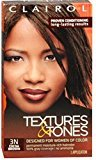 Clairol Textures & Tones 3N Cocoa Brown, 1 ea (Pack of 8)