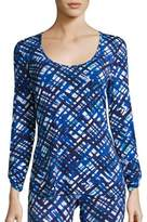 Cosabella Printed Talco Long Sleeve Top
