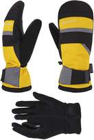 ANDORRA Hyper Tech Touchscreen Ski Mittens w/ Pockets & Optional Light Inner Gloves